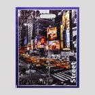 """Пакет """"Городские огни"""", полиэтиленовый с вырубной ручкой, 38х47 см, 60 мкм - Фото 2"""