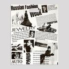 """Пакет """"Газета"""", полиэтиленовый с вырубной ручкой, 41х51 см, 80 мкм - Фото 2"""