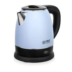 Чайник электрический FIRST 5407-3-BU, пластик, колба металл, 1.2 л, 2200 Вт, синий