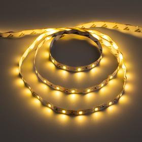 Комплект светодиодной ленты URM, 60 LED/м, 4.8 Вт/м, 12В, IP22, 3000К, 3 м