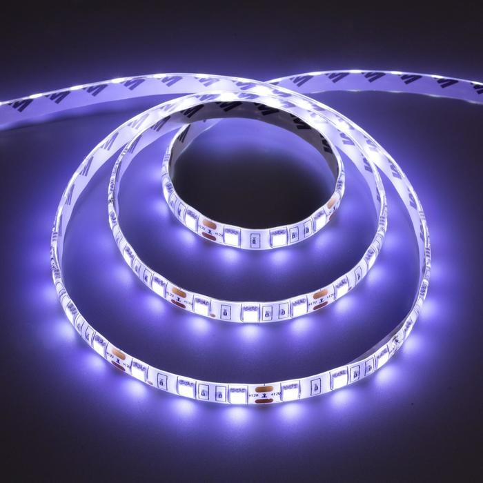Комплект светодиодной ленты URM, 5050, 60 LED/м, 14.4 Вт/м, 12В, IP65, 6500К, 5 м