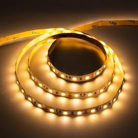 Комплект светодиодной ленты URM, 5050, 60 LED/м, 14.4 Вт/м, 12В, IP20, 3000К, 5 м
