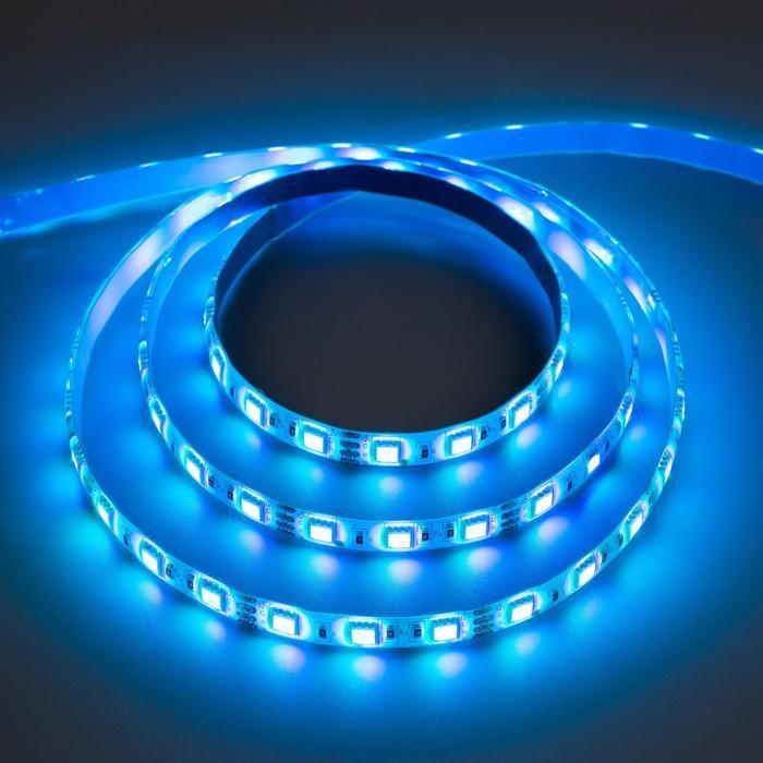 Комплект светодиодной ленты URM, 5050, 60 LED/м, 14.4 Вт/м, 12В, IP65, RGB, 5 м