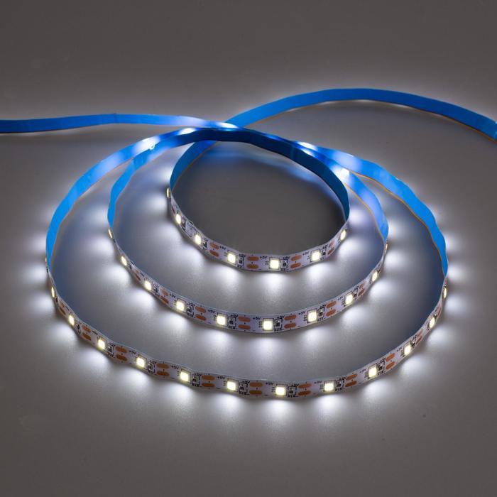 Комплект светодиодной ленты URM, 60 LED/м, 4.8 Вт/м, 5В, IP22, 6500К, датчиком движения, 3 м