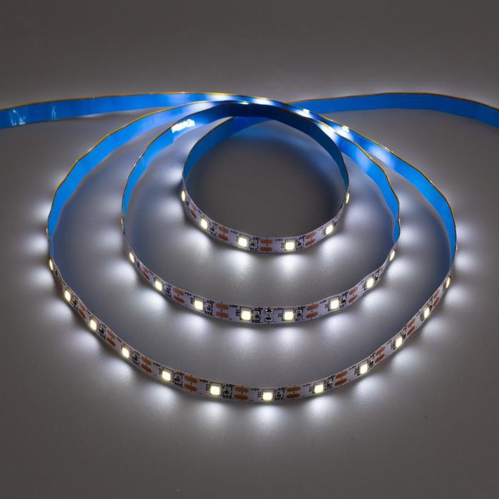 Комплект светодиодной ленты URM, 60 LED/м, 4.8 Вт/м, 5В, IP22, 6500К, ААх3, 3 м