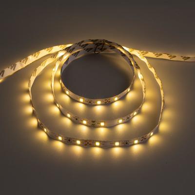 Светодиодная лента URM, 5 м, 60 LED/м, 4.8 Вт/м, 12В, 8-10 Лм, IP22, 3000К