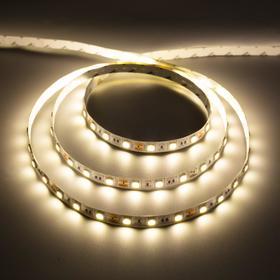 Светодиодная лента URM, 5050, 60 LED/м, 14.4 Вт/м, 12В, 18-20 Лм, IP22, 4000К, 5 м