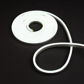 Гибкий неон, 5 м, LED/м-120-SMD2835-220V, IP65, БЕЛЫЙ Ош