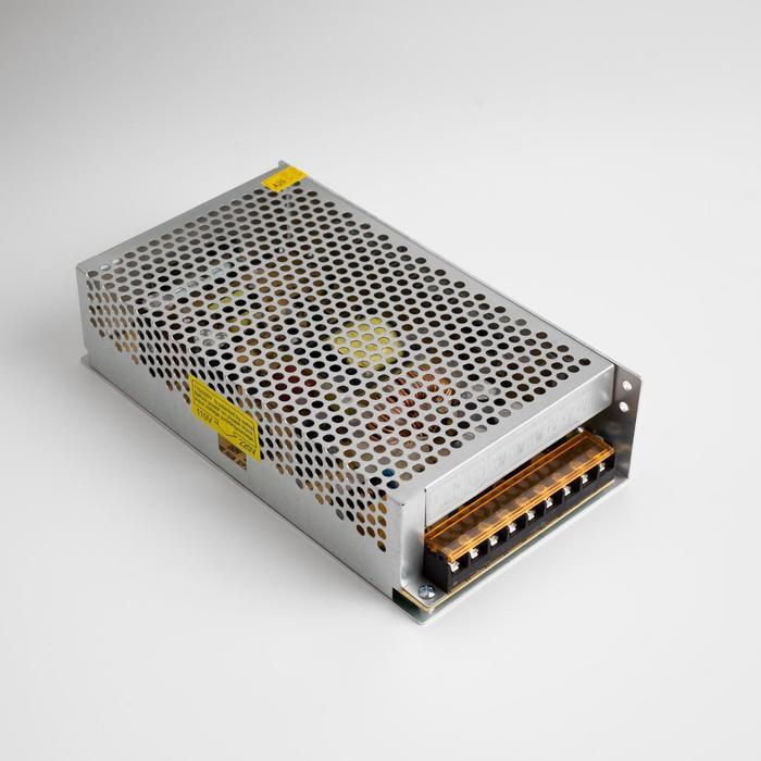 Блок питания для светодиодных лент и модулей URM, 250 Вт, 12 В, IP22, металл
