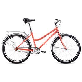 Велосипед 26' Forward Barcelona 1.0, 2021, цвет коралловый/бежевый, размер 17' Ош