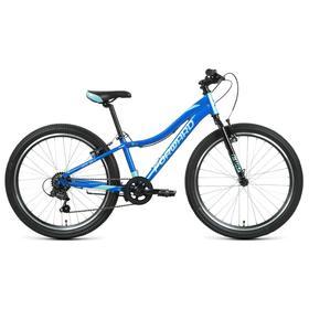 """Велосипед 24"""" Forward Jade 1.0, цвет синий/бирюзовый, размер 12"""""""