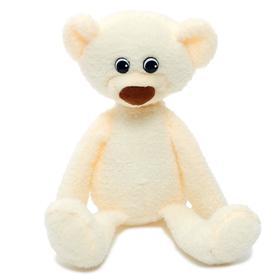 Мягкая игрушка «Медвежонок Ермак», цвет белый, 21 см