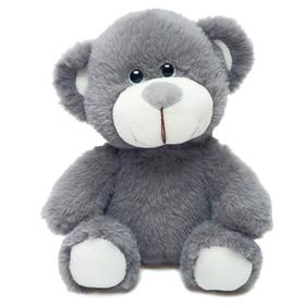 Мягкая игрушка «Медвежонок Сильвестр», цвет серый, 20 см