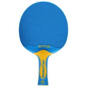 Ракетка для настольного тенниса Double Fish V1 series plastik (blue)