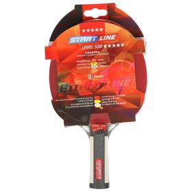 Теннисная ракетка Start line Level 500 New, анатомическая