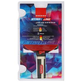 Теннисная ракетка Start line Level 600 New, прямая