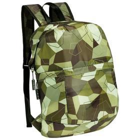Рюкзак складной Gekko хаки, в сложенном виде: 20х20х4 см; в разложенном: 26,5х42х14 см