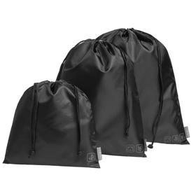Набор сумок Stora черный, 24x26 см; 28х35 см; 37х40 см; упаковка 25х27 см
