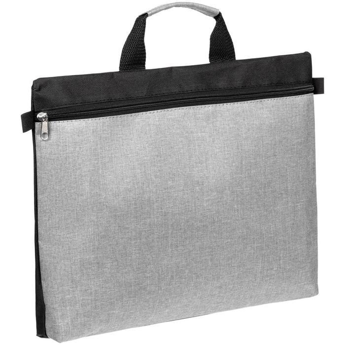 Конференц-сумка Melango серая, 40x31x5 см
