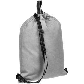 Рюкзак-мешок Melango серый, 34x45 см