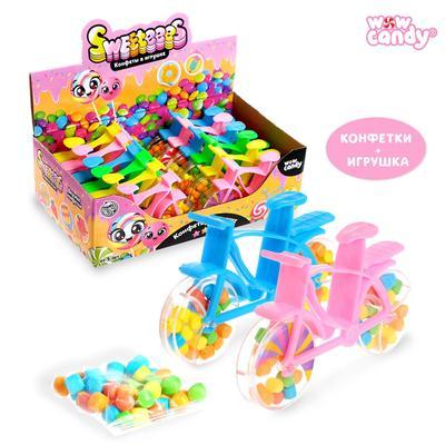Набор Sweeteees «Велосипед» с конфетами, МИКС - Фото 1