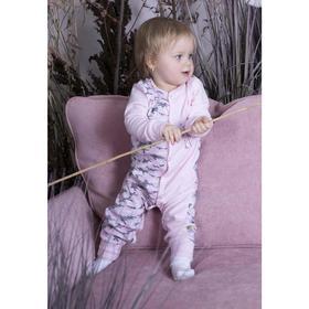 Комбинезон «Флэмми», рост 56 см, цвет розовый
