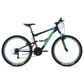 """Велосипед 27,5"""" Forward Raptor 1.0, цвет черный/бирюзовый, размер 16"""""""