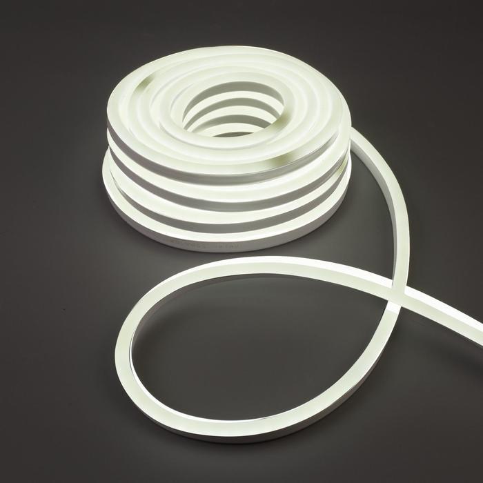 Гибкий неон Uniel, 10 м, IP67, LED/м-120-SMD2835-220V, БЕЛЫЙ