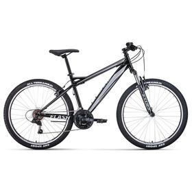 """Велосипед 26"""" Forward Flash 1.2, цвет черный/серый, размер 17"""""""