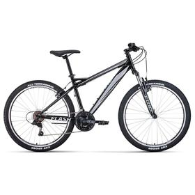 Велосипед 26' Forward Flash 1.2, цвет черный/серый, размер 19' Ош