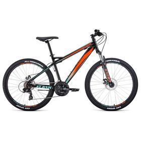 """Велосипед 26"""" Forward Flash 2.2 disc, цвет черный/оранжевый, размер 17"""""""