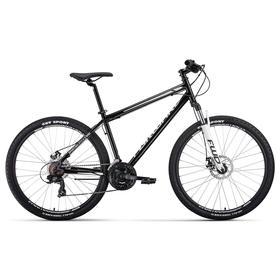 "Велосипед 27,5"" Forward Sporting 2.2 disc, цвет черный/белый, размер 19"""