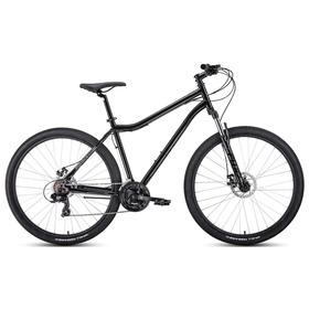 "Велосипед 29"" Forward Sporting 2.2 disc, цвет черный/темно-серый, размер 17"""