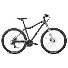 Велосипед 29' Forward Sporting 2.2 disc, цвет черный/белый, размер 19' Ош