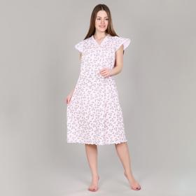 Сорочка женская, цвет розовый, размер 48