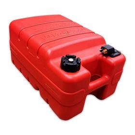 Топливный бак для лодок с коннектором, 24л, красный Ош