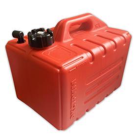 Топливный бак для лодок с фитингом, 12л, красный Ош