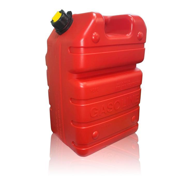 Бак-канистра под бензин, 24л, красный