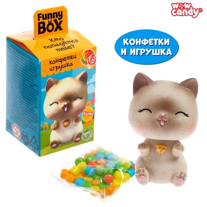 Funny box с конфетами «Котики», МИКС