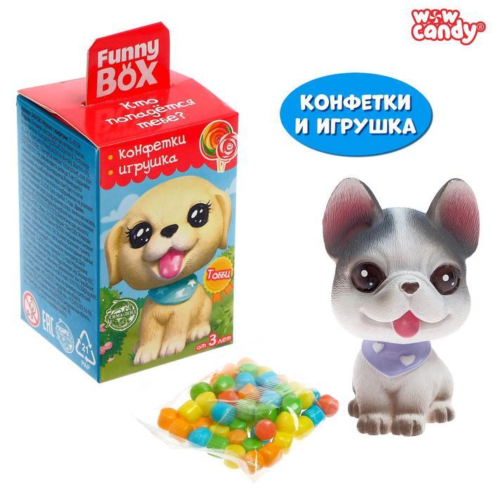Funny box «Щенята», конфеты, игрушка МИКС