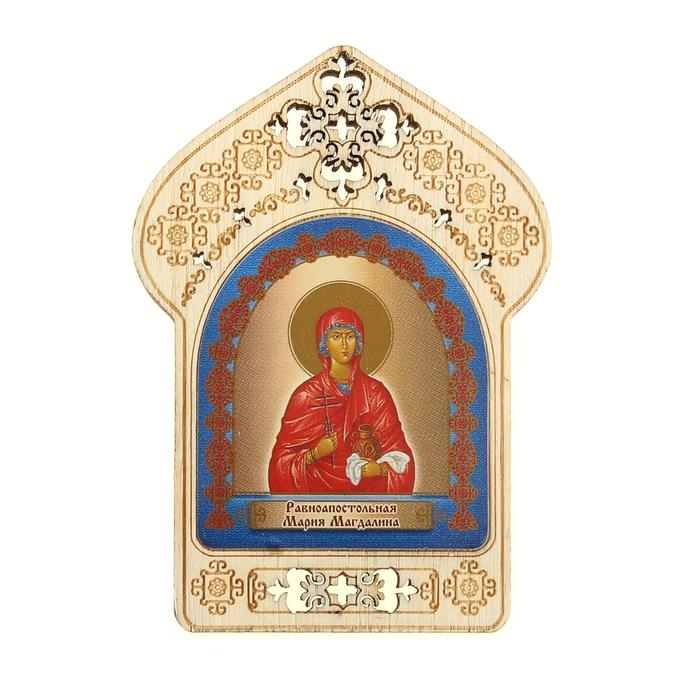 """Именная икона """"Равноапостольная Мария Магдалина"""", покровительствует Мариям"""