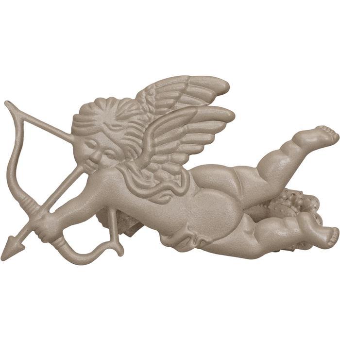 Клипса для штор на защёлке «Ангел», цвет кремовый