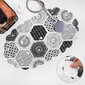 Коврик для ванны Доляна «Маракано», 38×66 см Ош