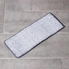 Насадка для швабры на липучке из микрофибры, комплектующие к набору, 32×12 см, 1 карман Ош