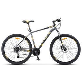 Велосипед 29' Stels Navigator-910 MD, V010, цвет чёрный/золотой, размер 18,5' Ош