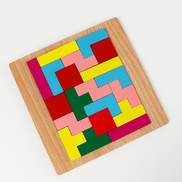 Детская развивающая игра Рамка вкладыш 15151 см, МИКС