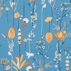 Постельное бельё 1,5сп Pastel «Ботаника» 147х217, 150х220, 70х70 - 2 шт - Фото 3
