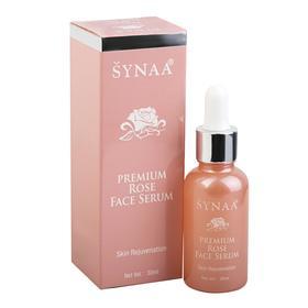 Сыворотка для лица Synaa, омолаживающая, с маслом дамасской розы, 30 мл