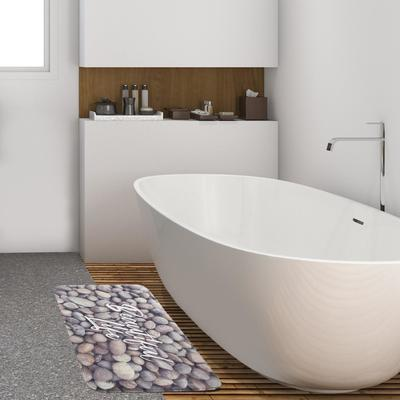 """Коврик для ванной Этель """"Beautiful life"""", 80х50 см, велюр - Фото 1"""