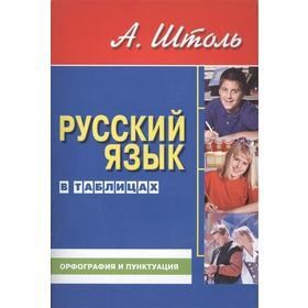 Русский язык в таблицах (ср. формат). Орфография и пунктуация. Штоль А.